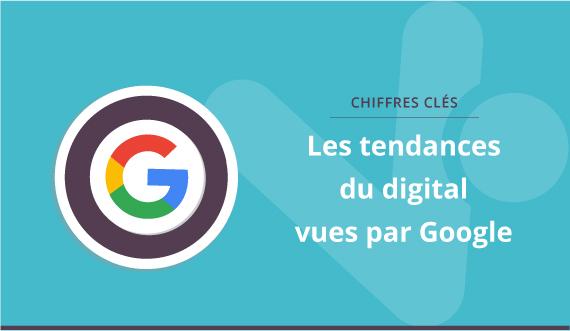 Les chiffres clés du digital par Google
