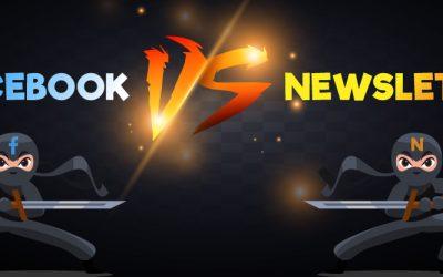 Facebook vs Newsletter : quel outil choisir pour bien communiquer sur votre activite ?